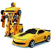Vikas gift gallery Battery Operated converting car to Robot, Robot to car Automatically, with Light and Sound for Kids…