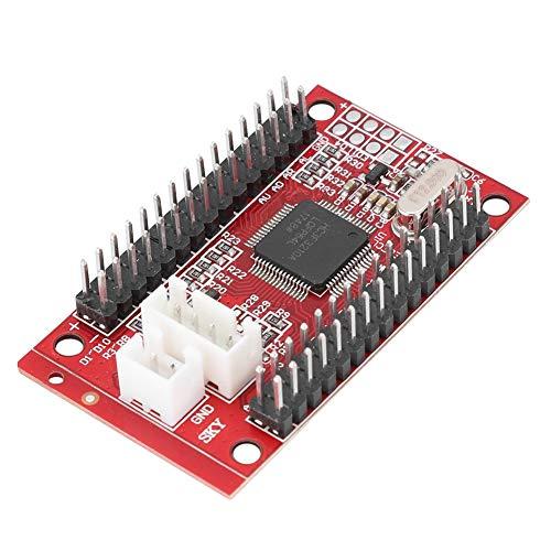 Tosuny High Precision Rocker-Chip USB-Joystick-Platine PC-Platine, Plug and Play, Rot -