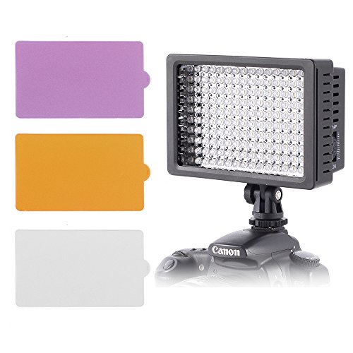 ZCTL Ultra Dimmbare Fotostudio Beleuchtung 160 LED
