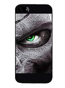 Fuson 2D Printed Eye Designer back case cover for Apple iPhone 4 - D4331