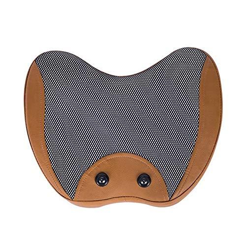 Jueven Massagekissen Massagekissen Massagematte Ausrüstung Halswirbelsäule Rücken Lendenwirbelsäule Kneten Perfekte Kombination für Home Office Chair Use