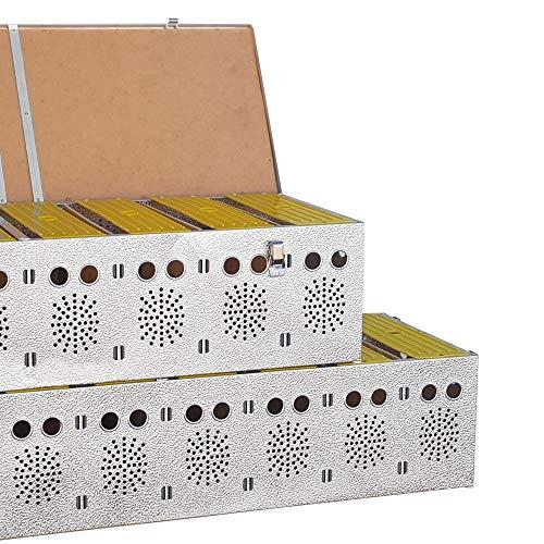 Breker Aluminium Transportkorb 10 Abteilungen - 4