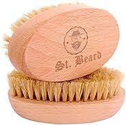 SAINT BEARD -Boar Bristle Beard Brush | 100% Natural Boar Hair Imported from USA | Premium Quality Brush