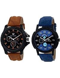 Armado AR-6212 Combo Of 2 Elegant Analog Watches For Men
