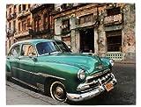 Kare 67500 Bild Cuba Car 110 x 140 cm