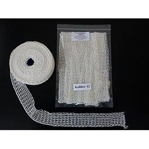 5m Kaliber 12 Bratennetz / Rollbratennetz / Räuchernetz für Einfüllrohr mit einem Durchmesser von ca. 90 mm