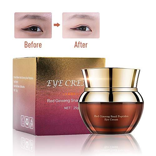 Charmss Augencreme Anti-Aging Anti-Falten verbessern feine Linien und Falten, entfernen Sie dunkle Kreise und Taschen für unter und um die Augen, feuchtigkeitsspendende Augencreme (25g).