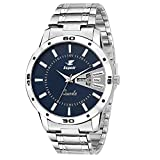 #1: Espoir Mens ESP12457 Analog Blue Dial Watch