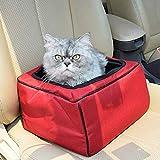 IF.HLMF Pet Booster Cover Seat Hund Autositz Zusammenklappbarer Träger Perfekt für kleine Hunde und Katzen