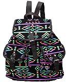 Yonger Vintage Causal Canvas Travel Rucksack Hobo Satchel Book Bag Backpack Schoolbag Woman