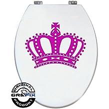 Pegatinas Rosa Corona para Pressalit WC Tapa