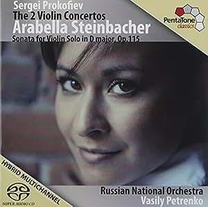 Violinkonzerte 1 & 2/Solo Sonata