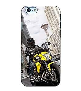 Fuson Designer Back Case Cover for Apple iPhone 6s Plus :: Apple iPhone 6s+ (Sports Bike theme)