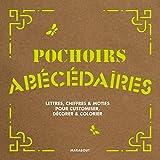 Pochoirs Abécédaires lettres, chiffres et motifs pour customiser, décorer et colorier