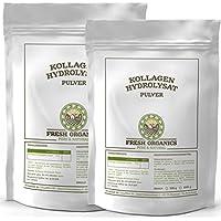 1000g / 1kg (2x 500g) Kollagen - Hydrolysat   100% Reines Pulver   Collagen für Gelenke, Knorpel, Haut & Nägel ( Gelenkschutz )   im widerverschließbaren Frischebeutel
