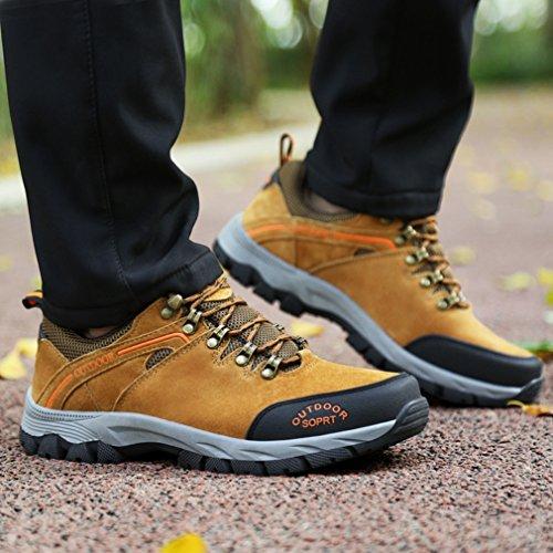 XI-GUA ,  Scarpe da camminata ed escursionismo uomo Gelb