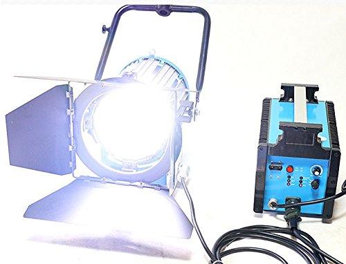 Actualizar 1200W 1.2K HMI Fresnel Light + balasto electrónico + Bombilla como arri Compacto Kit Profesional