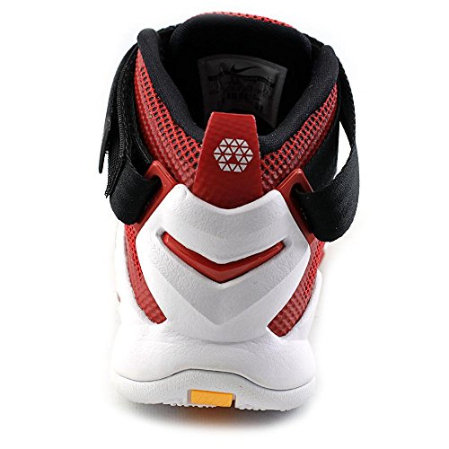 Nike Lebron Soldier Ix, Chaussures de Sport-Basketball Homme Rouge