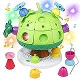 Nuheby Cubo Multiattivita Bambini Musicale Gioco Giochi Educativi Montessori Giocattoli Interattivi Set Regalo per Bambino Bambina Bimbo Ragazza Ragazzo 1 2 3 4 Anni