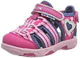 Geox Baby Mädchen B Sandal Multy Girl A, Pink (Fuchsia/Navy), 23 EU