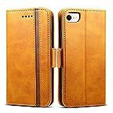Rssviss Housse iPhone 6/7, Etui pour iPhone 6/6s/7/8 en Cuir Portefeuille Universel...