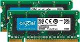 Crucial CT2KIT25664AC800 4GB Kit DDR2 800MHz SDRAM (2GB x 2, PC2-6400, SODIMM 200-Pin)