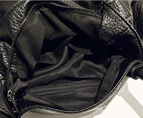 KUWOMINI.Women Bags Primavera Estate Autunno Inverno All Seasons PU Borsa A Tracolla Con Rivetto Per Evento Di Nozze / Party Casual Ufficio Formale All'aperto E Carriera Brown