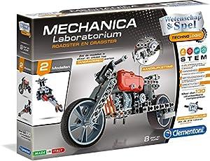 Clementoni 66789 Vehículo Juguete y Kit de Ciencia para niños - Juguetes y Kits de Ciencia para niños (Ingeniería, Vehículo, 8 año(s), Niño/niña, Negro, Gris, Rojo, Italia)