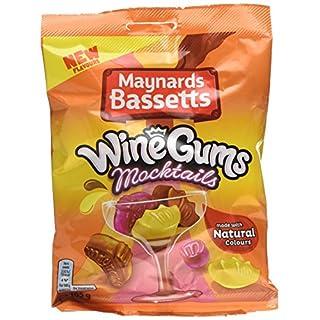 Maynards Bassetts Wine Gums Mocktails, 165 g, Pack of 12