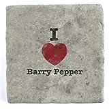 I Love Barry Poivre�Marbre carrelage Boisson Dessous de Verre