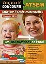 Objectif Concours - ATSEM - 100 questions de l'oral par Vasse