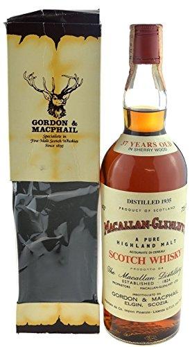 Macallan-Glenlivet Jahrgang 1935 - 37 Jahre alt 0,7l G&M inkl. Geschenkkarton - A Pure Highland Malt Scotch Whisky