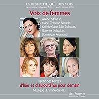 Voix de femmes d'hier et d'aujourd'hui pour demain par Gisèle Halimi