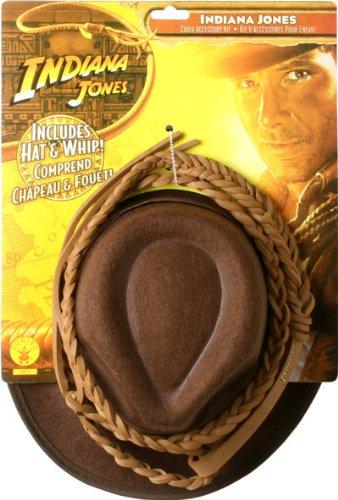 & Peitschen Set für Kinder (Indiana Jones Hut Für Kinder)