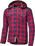 Held Lumberjack Hemd Rot/Blau XL