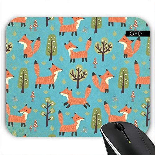 Mousepad - Fuchs Tier Wildtier Niedlich by UtArt