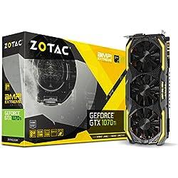 Zotac ZT-P10710B-10P Carte Graphique Nvidia GeForce GTX 1070 Ti 1607 MHz