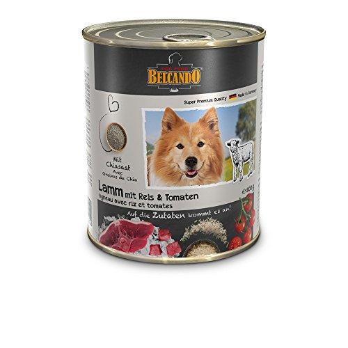 BELCANDO Belcando Umido Agnello Riso GR. 800 Cibo Secco Senza Cereali Per Cani