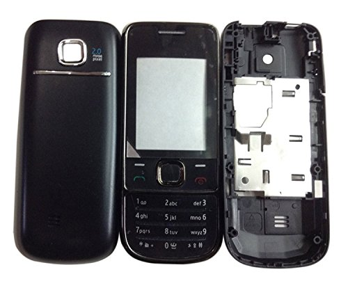 BLUE DIAMOND Replacement Full Body Housing Panel For Nokia 2700 Classic- Black  available at amazon for Rs.299