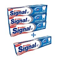 Signal Cavity Fighter Toothpaste, 4 x 120 ml