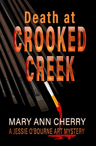 Death at Crooked Creek (A Jessie O'Bourne Art Mystery Book 2) (English Edition)