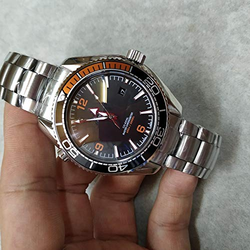 CWTCHY Luxusuhr Herrenuhr wasserdicht automatische mechanische Uhr Edelstahl Saphirglas automatische Armbanduhr