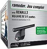 Rameder Pack Barres de Toit Tema pour Renault Megane IV 3/5 Portes...