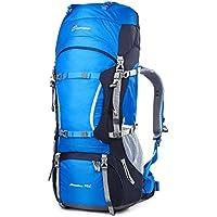 219d372af2 Mountaintop 60+10 Litri/70L+10/75L Zaino Trekking Impermeabile  Escursionismo montagna