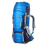 Mountaintop 70L Zaino Trekking Impermeabile Escursionismo montagna campeggio alpinismo viaggio 85 X 35 X30CM