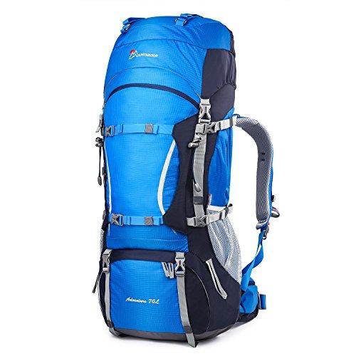 Mountaintop 70+10 litri zaino trekking impermeabile escursionismo montagna campeggio alpinismo viaggio