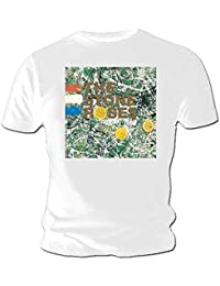 Official T Shirt THE STONE ROSES Original Album Cover White L