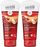 lavera Haar Spülung Farbschutz & Pflege ∙ Cranberry & Avocado ∙ Colorierte Haare ∙ vegan ✔ Bio Haarspülung ✔ Natural & innovative Hair Care ✔ Naturkosmetik ✔ Haarpflege 2er Pack (2 x 200 ml)