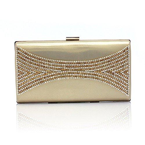 diamante/Package banchetto/pacchetto Cena/ sacchetto di mano di moda-A A