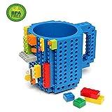 Creativo fai da te ecologico blocchi di plastica della tazza di caffè della tazza del mattone Blue